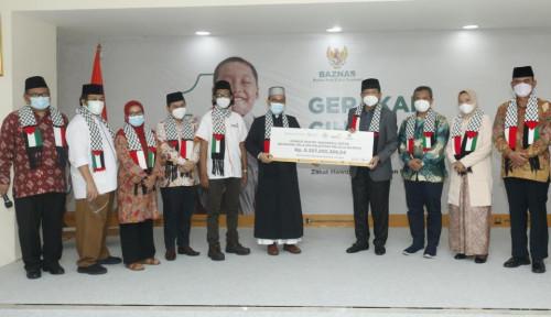UAH Salurkan Lagi Donasi Rp6,3 Miliar  ke Baznas, Kali Ini untuk Pelajar Palestina