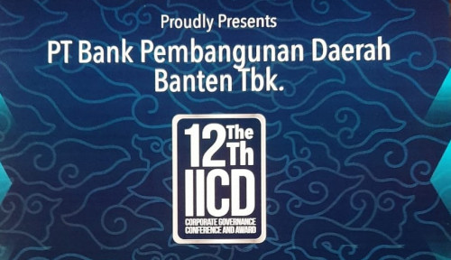 Bank Banten Raih Top 50 Emiten di The 12th IICD Corporate Governance Award 2021
