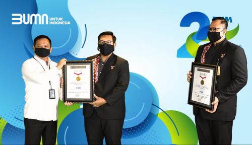 Rayakan Ulang Tahun ke-22, PNM Raih Dua Penghargaan MURI