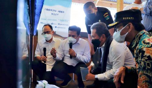 Menteri Trenggono Dorong Kampung Gurami BIMA untuk Kesejahteraan Masyarakat Lima Puluh Kota