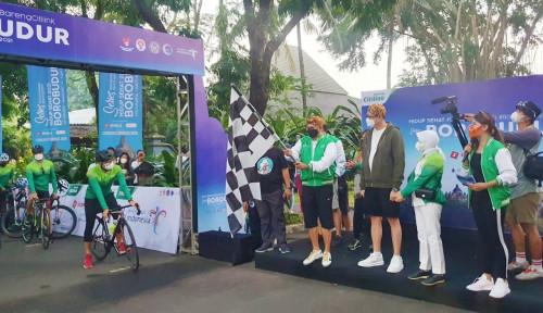 Bangga Buatan Indonesia: Citilink Gandeng UMKM Daerah dalam Progam Hidup Sehat Series Borobudur