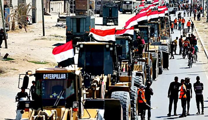 Tatap Dialog,, Mesir Pastikan Negaranya Berdiri di Samping Palestina