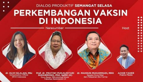 WHO: Vaksinasi Indonesia Sukses, Nomor 2 di Asia