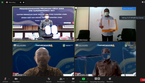 BI Sumut Kembali Gelar Kompetisi Karya Ilmiah Sumatranomics 2021