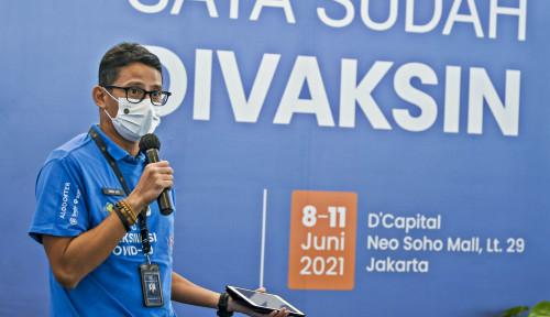 Sandiaga Bilang Kemenparekraf Ikut Bantu Distribusikan Tabung Oksigen