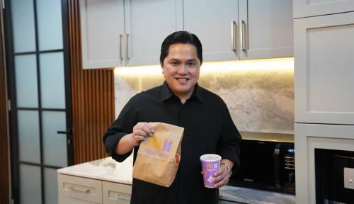 Menteri BUMN Erick Thohir Beli BTS Meal