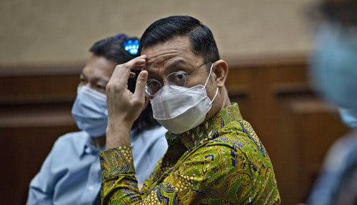 Ditegur Majelis Hakim buat Jujur, Juliari Batubara Spontan: Baik Yang Mulia!