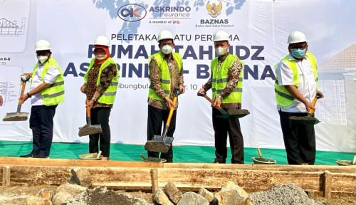 Bersama Baznas Bangun Rumah Tahfiz, Askrindo Berharap Generasi Muda Indonesia Berakhlak