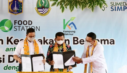Jabar-DKI Jakarta Jalin Kerja Sama di Bidang Pangan dan UMKM Guna Dorong Pemulihan Ekonomi