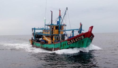 Sistem Pemantauan & Intercept KKP Ampuh, 2 Kapal Illegal Fishing Kembali Ditangkap