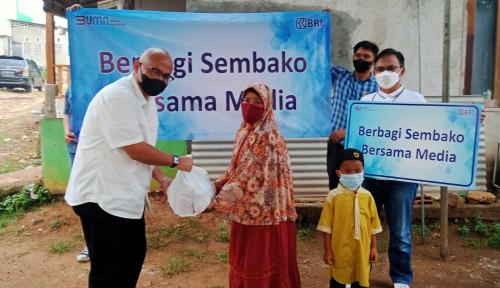 Kanwil BRI Jakarta II Salurkan Sembako ke Anak Yatim dan Lansia di Bogor