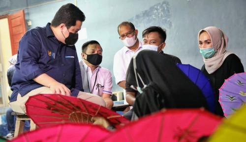 Nasihat Menteri BUMN Erick Thohir untuk Nasabah dan AO PNM di Tasikmalaya