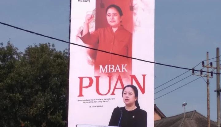 Dear Mbak Puan, Daripada Pasang Seribu Baliho Mending Uangnya buat Bantu Rakyat yang Lagi Susah