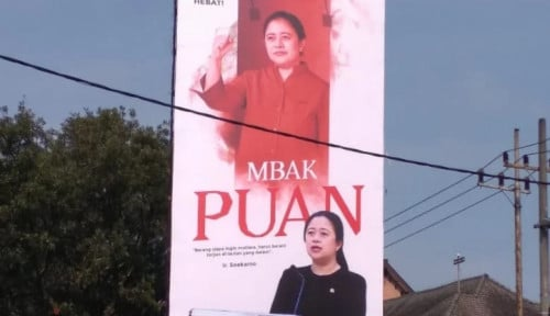 Baliho Puan Maharani Dicorat-coret Bikin Kader Banteng Ngamuk, Tapi Nggak Asal Main Seruduk