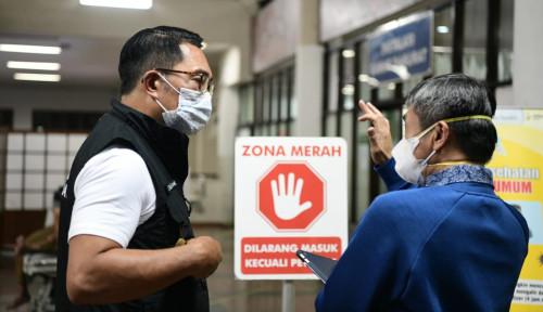 Tinjau Dua Rumah Sakit di Kota Bandung, Ridwan Kamil: Ada Peningkatan, Tapi Masih Relatif Terkendali