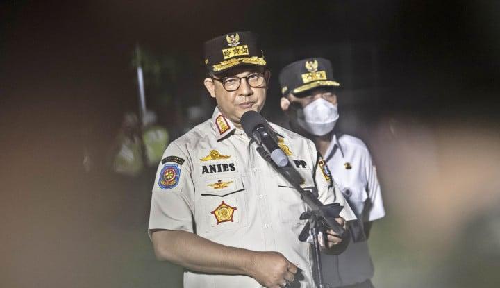 Anies Baswedan: Jangan Kasih Kendor Meskipun Kasus Aktif Covid-19 Jakarta Turun
