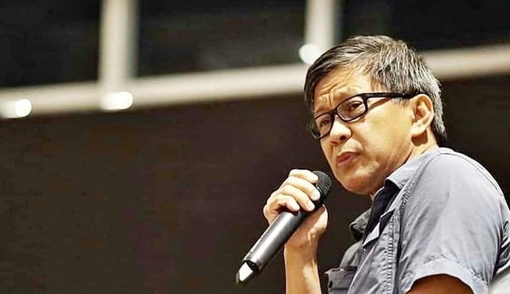 Rocky Gerung Geram Penggusurannya Dianggap Wajar, Apa Karena Kerap Kritik Rezim Jokowi?