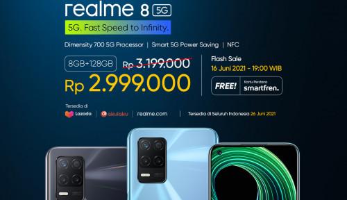 Realme Luncurkan HP 5G Rp3 Jutaan, Ini Rinciannya