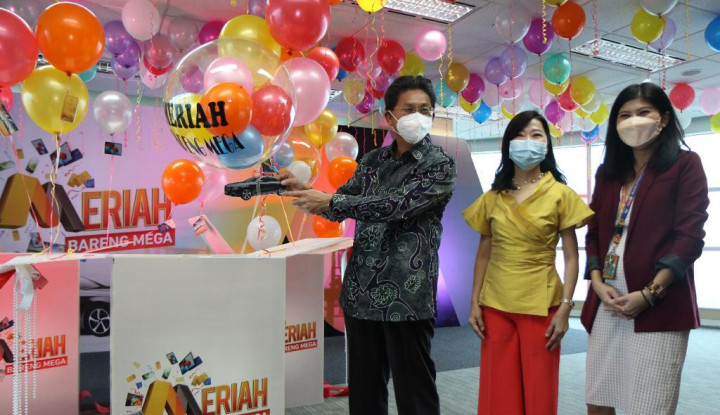 MEGA Manjakan Nasabah, Bank Mega Meluncurkan Program Tabungan Meriah Bareng Mega