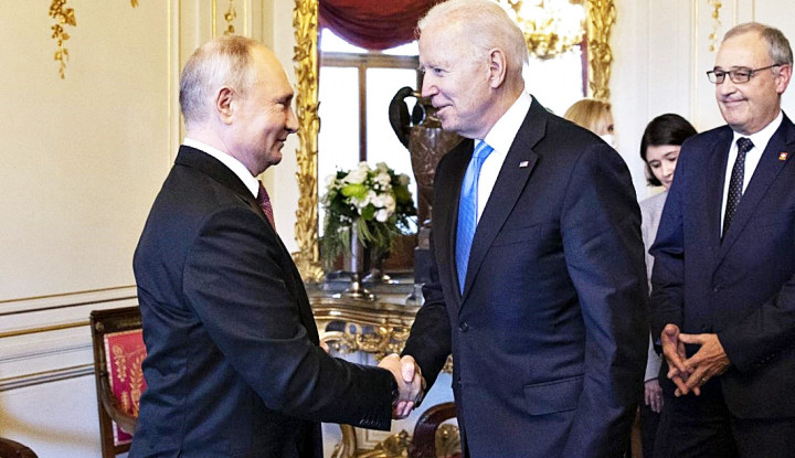 Hati-hati Biden, Mulutmu Harimaumu! Orangnya Putin Seketika Pamer Kekuatan Lebih dari Senjata Nuklir