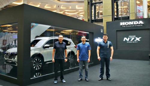 Genjot Penjualan, Honda N7X Dikenalkan di Empat Kota