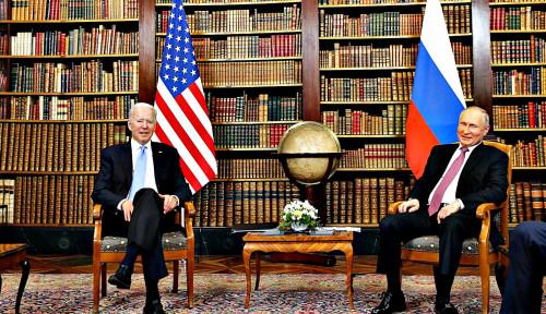 Anak Buah Putin dan Biden Sepakat Bahas Pembicaraan Nuklir Usai Pertemuan Puncak
