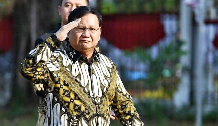 Catat Baik-Baik! Pasangan Paling Mantap di Pilpres Adalah Prabowo dan Gubernur...