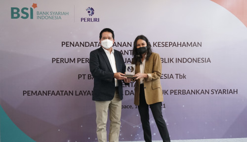Kolaborasi, BSI-Peruri Kembangkan Ekonomi Syariah di Indonesia
