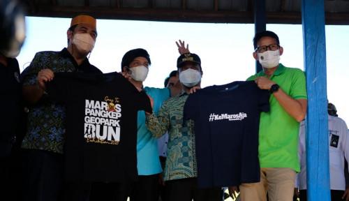 Sandiaga Promosikan Geopark Rammang Rammang Indonesia ke Dunia