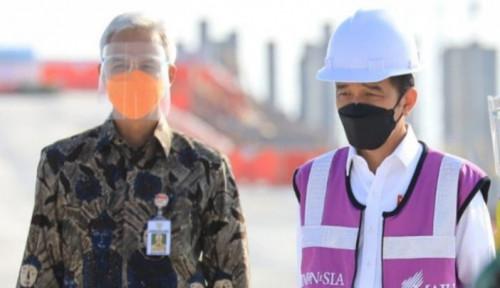 Kata Ganjar ke Jokowi: Sehat Selalu Pak, Terus Berkarya