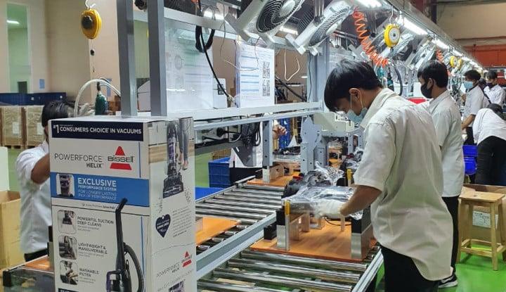 Hingga Maret, SCNP Berhasil Ekspor 40 Ribu Unit Vacuum Cleaner ke Amerika Serikat