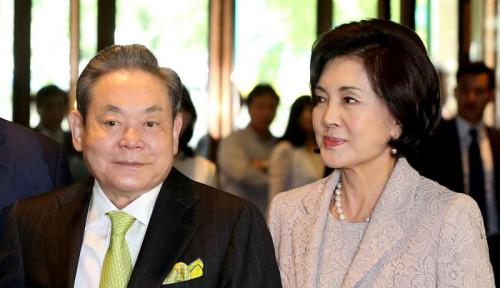 Foto Mengintip Sosok Hong Ra-hee, Janda Konglomerat Samsung, Wanita Terkaya Berharta Rp104 Triliun