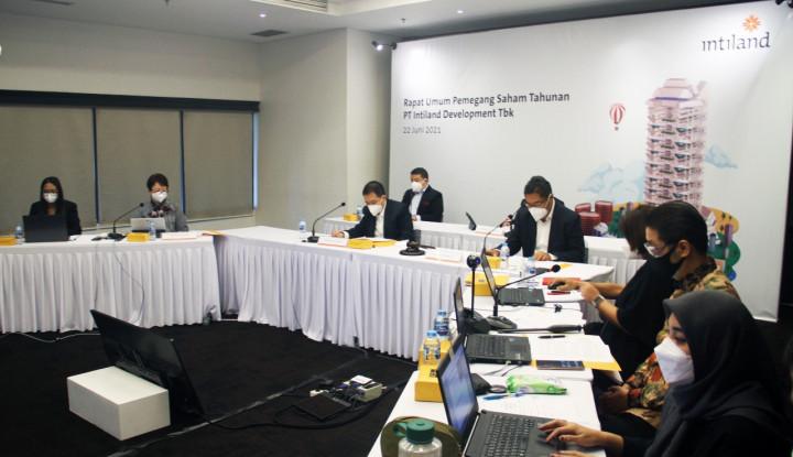 DILD Pasar mulai bangkit Intiland Optimis Capai Target, Per Juni Marketing Sales Sudah Rp940 M