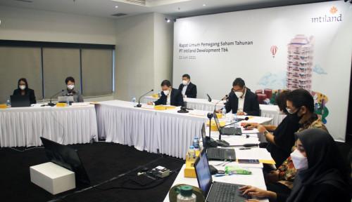 Pasar mulai bangkit Intiland Optimis Capai Target, Per Juni Marketing Sales Sudah Rp940 M