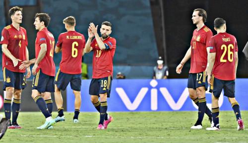 Tampil Jelek, Tapi Spanyol Lolos Semifinal Piala Eropa