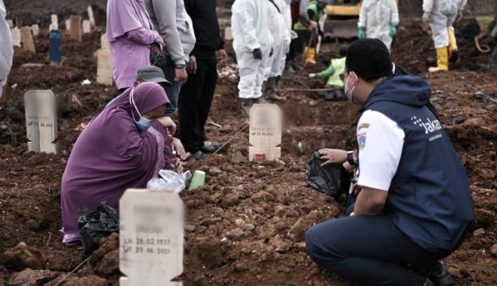 Ibu Kota Jakarta Catat Rekor Pemakaman Jenazah Covid, Mas Anies Teriak, Cukup...Cukup Sudah!