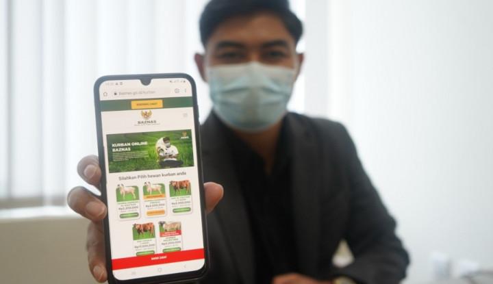 BAZNAS Luncurkan Kurban Online, Mudah dan Tetap di Rumah Saja