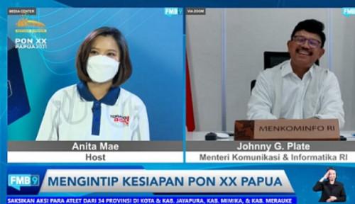 Antisipasi Kenaikan Trafik Jelang PON XX Papua, Menkominfo Siapkan Backup Telekomunikasi
