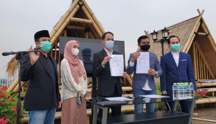 BEBS Tandatangani Kontrak bersama Perusahaan Ust Yusuf Mansur Senilai Rp125 Miliar