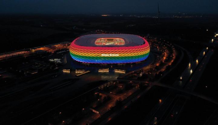 Beh! Larangan UEFA Aja Dicuekin, Stadion LGBT Ini Bakal Tetap Hadir di Jerman