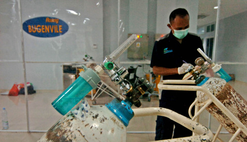 Gotong-Royong! Kemenkes Upayakan Kebutuhan Oksigen Pasien Covid-19 Terpenuhi