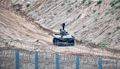 Alert! Robot Canggih Milik Tentara Zionis Ini Sebentar Lagi Bakal Masuk Gaza