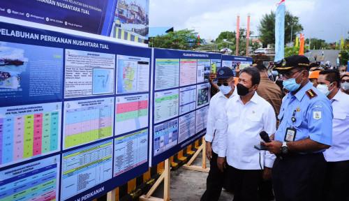 Menteri Trenggono Akan Bangkitkan Produktivitas Sektor Perikanan di Tual