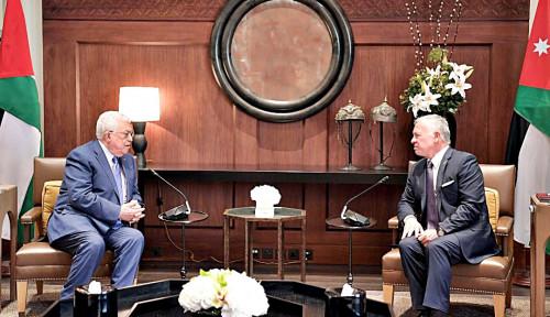 Di Ibu Kota Yordania, Mahmoud Abbas Temui Raja Yordania untuk Bahas Hal Ini