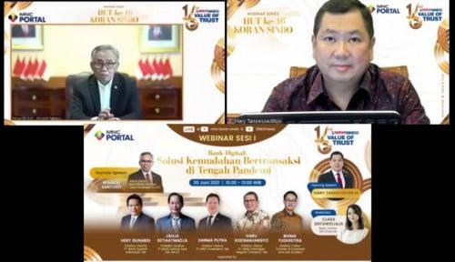 OJK Yakin Ekonomi Digital RI Terbesar Se-Asia Tenggara, HT: Cabang Bank Digital di Setiap Rumah
