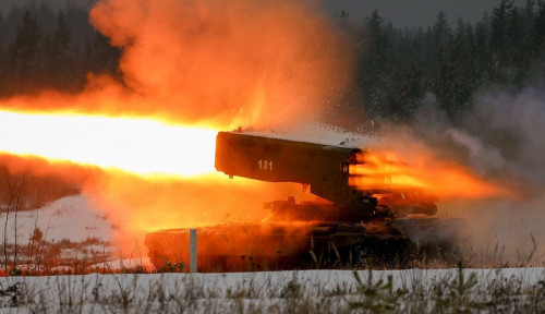 Senjata Termobarik, Cara Mengerikan Rusia yang Bisa Melelehkan Tentara dalam Perang