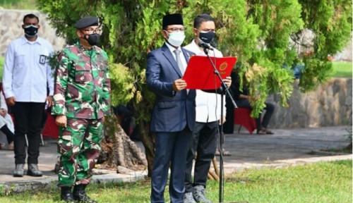 Menkominfo Pimpin Upacara Apel Persada Pertiwi Pemakaman Menteri Penerangan Harmoko