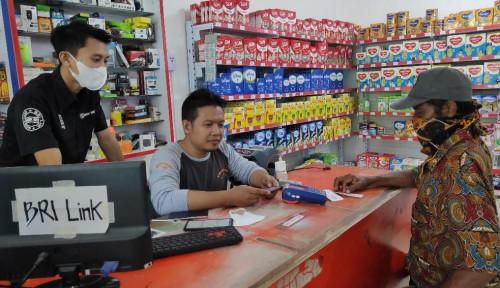 Ketiban Durian Runtuh! Bermula dari Gerai Pulsa, Agen BRILink Ini Raup Cuan Hingga Punya Minimarket