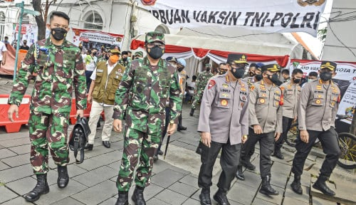 TNI-Polri Terus Bahu Membahu Hadapi Pandemi