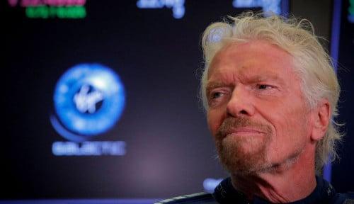 Foto Sukses ke Luar Angkasa, Kok Richard Branson Jual Sahamnya di Virgin Galactic?